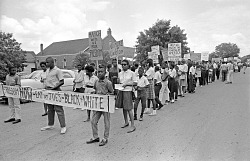 March from Church through Chapel Hill Stopping at Segregated Businesses