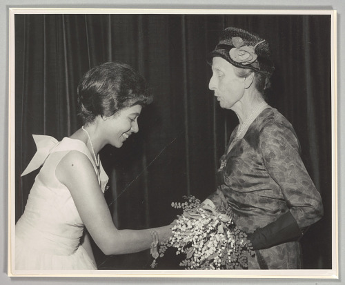 Image for Photo of Mattiwilda Dobbs and Swedish Queen consort Louise