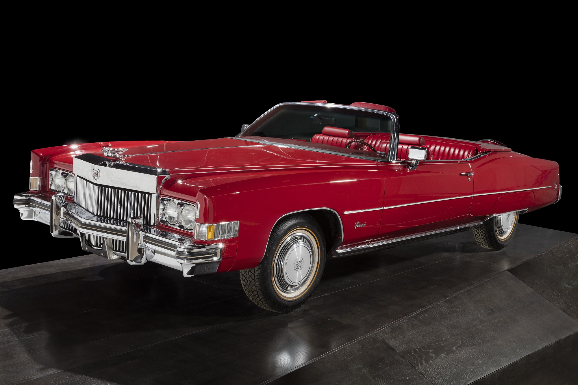 Image 1 for Red Cadillac Eldorado owned by Chuck Berry