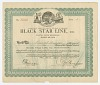 Thumbnail for Stock certificate issued by Black Star Line to Percival L. Burrows