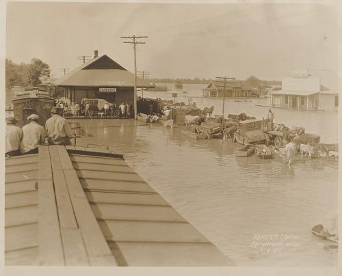 Image for Y. & M. V. R. R. Station Egremont, Miss. 5-2-27