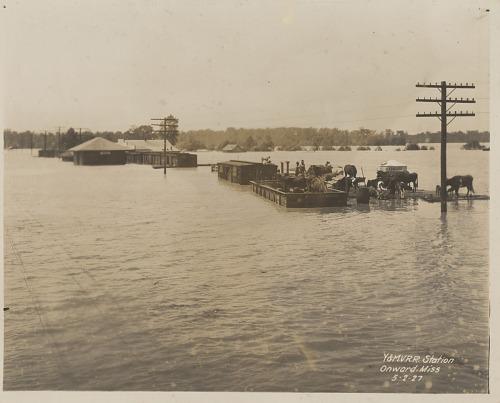Image for Y. & M. V. R. R. Station Onward, Miss. 5-2-27