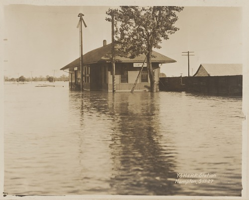 Image for Y. & M. V. R. R. Station Hampton 5-11-27