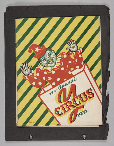 Image for Souvenir program for the 17th Annual Pine Street Y Circus