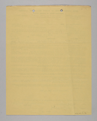 Image for Business contract and letter between Club Harlem and the Dell-tones