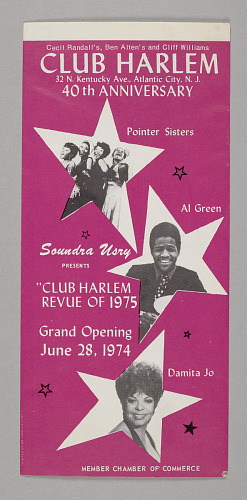 Image for Club Harlem Revue of 1975