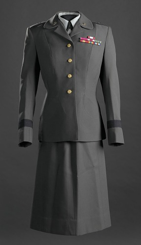 Image for Women's US Army Service uniform worn by Brigadier General Hazel Johnson-Brown