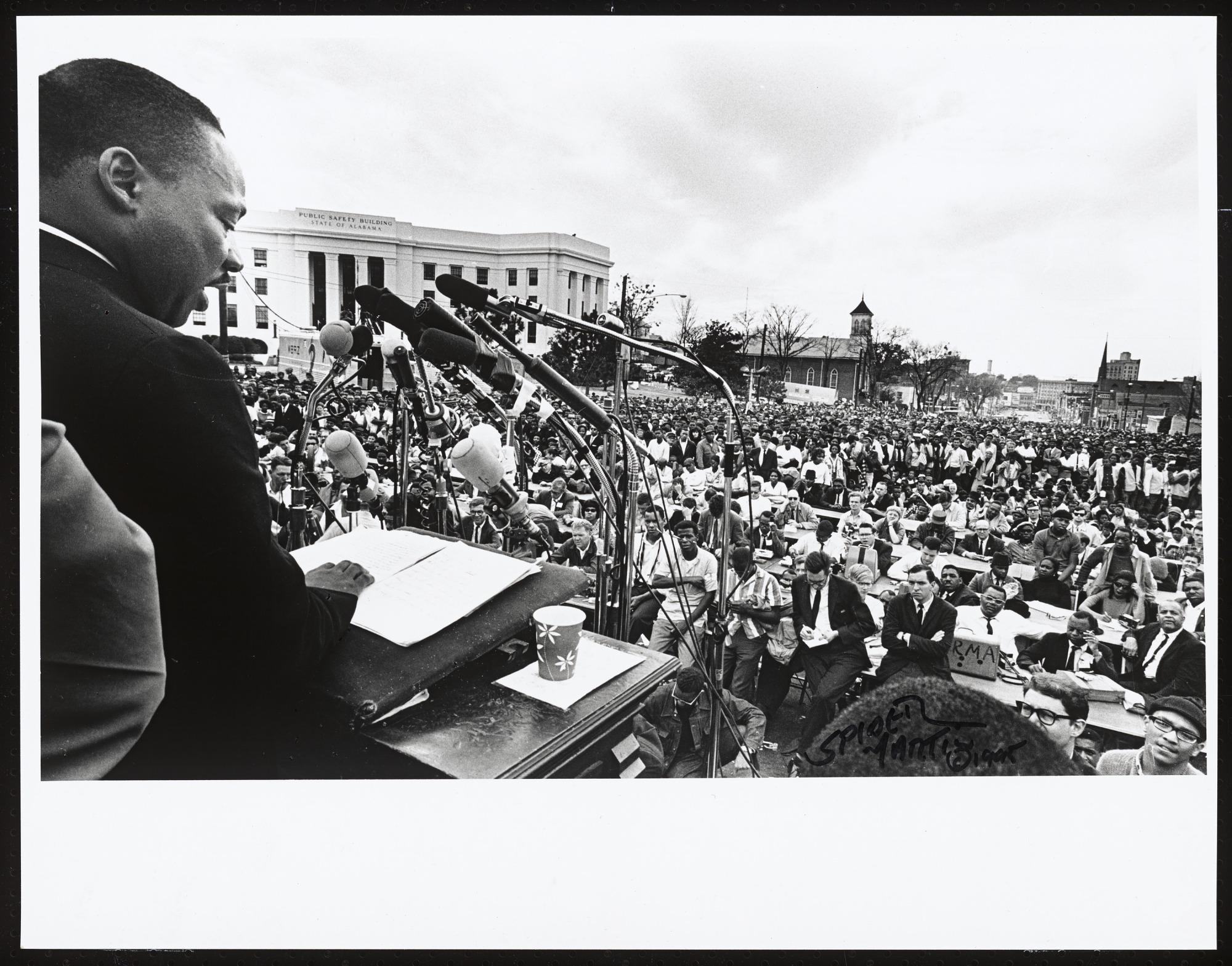images for <I>Dr. King Delivering His Speech</I>