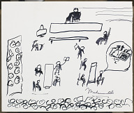 Image for Sketch by Muhammad Ali of his 1967 trial