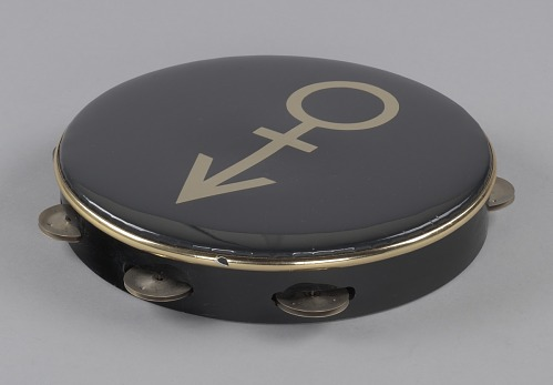 Image for Tambourine used on stage at Wembley Stadium during Prince's Nude Tour