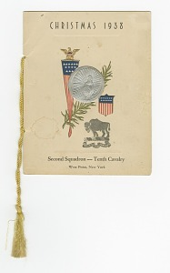 Image for Christmas Dinner Program for the 2nd Squadron 10th Cavalry at West Point