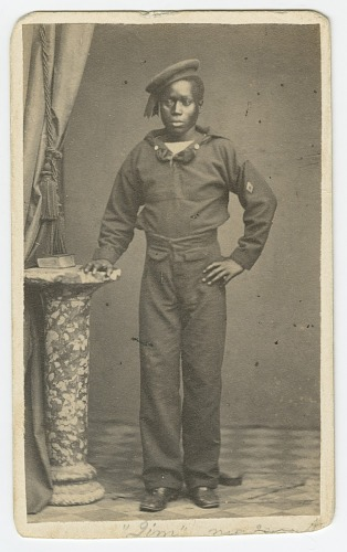 Image for Carte-de-visite of a sailor named Jim