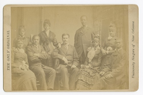 Image for THE ONLY ORIGINAL University Singers of New Orleans