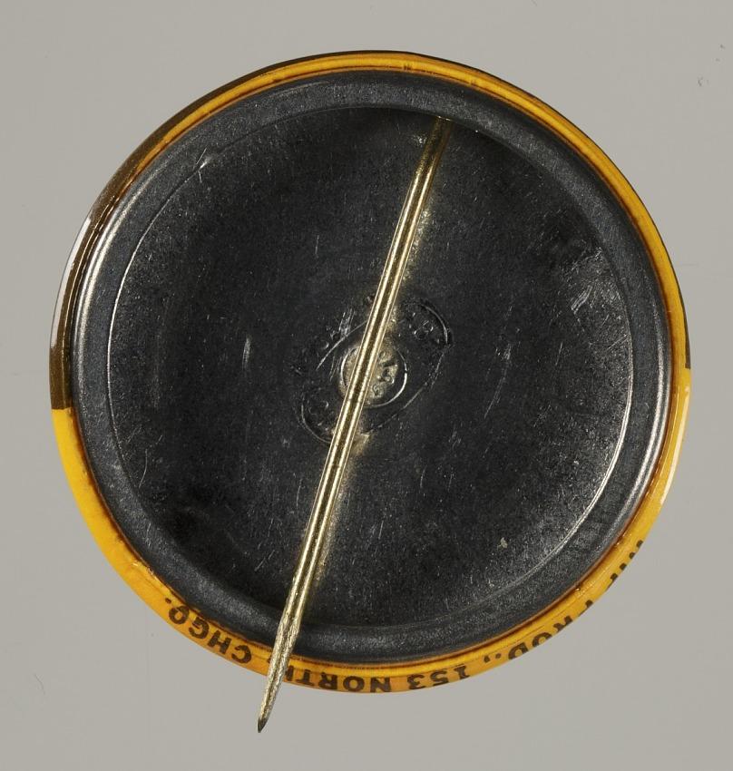 Pinback button stating