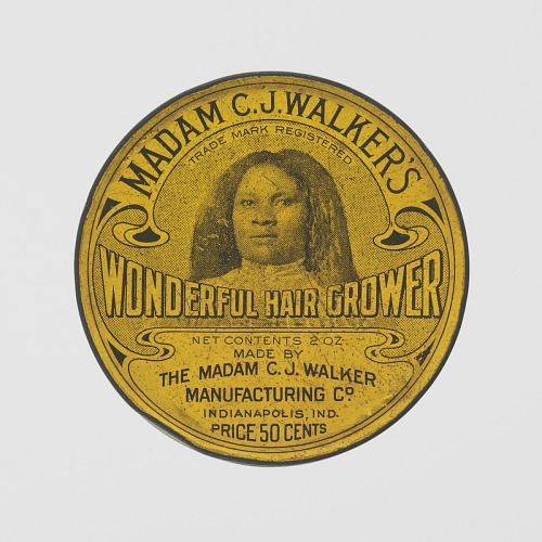 Image for Tin for Madame C.J. Walker's Wonderful Hair Grower