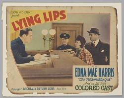 Lobby card for Lying Lips