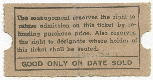 Image for Ticket for the