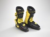 Thumbnail for Ski boots worn by Seba Johnson