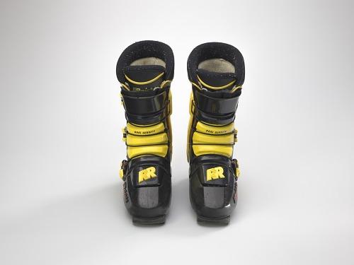 Image for Ski boots worn by Seba Johnson