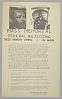 Thumbnail for Handbill for Martin Luther King, Jr. Mass Memorial
