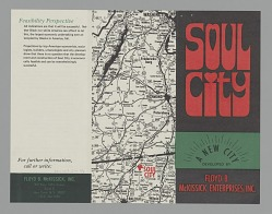 Promotional pamphlet for Soul City