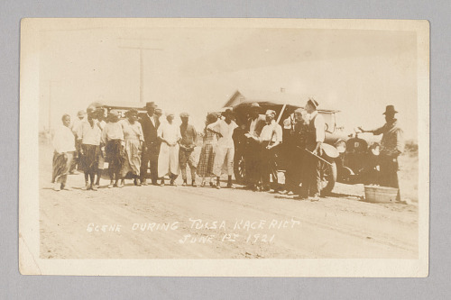 Image for Scene from Tulsa Race Riot June 1st 1921