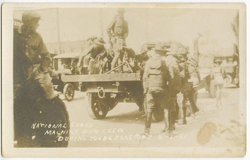 Image for National Guard Machine Gun Crew during Tulsa Race Riot 6-1-21