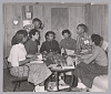 Thumbnail for Photograph of seven of the Little Rock Nine meeting at the home of Daisy Bates