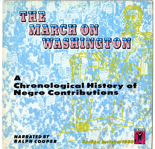Image for The March on Washington: A Chronological History of Negro Contributions