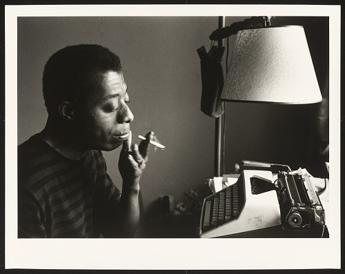 Image for James Baldwin by His Typewriter, Istanbul 1966