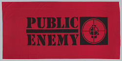 Banner used at Public Enemy performances