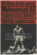 Image for Poster made by Amnesty International with Muhammad Ali photo