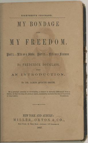 Image for My Bondage and My Freedom