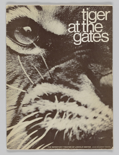 Image for Theatre program for Tiger at the Gates