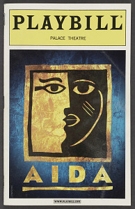 Image for Playbill for Aida