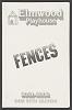 Thumbnail for Theatre program for Fences