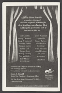 Image for Theatre program for Fences
