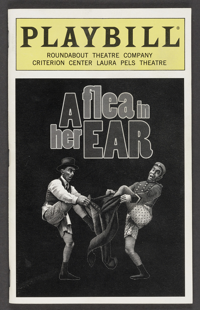 Image for Playbill for A Flea in Her Ear