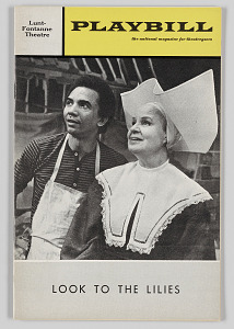 Image for Playbill for Look to the Lilies