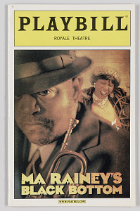 Image for Playbill for Ma Rainey's Black Bottom