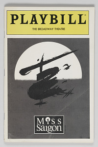 Image for Playbill for Miss Saigon