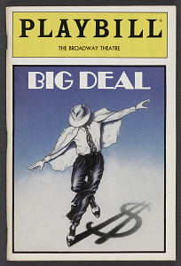 Image for Playbill for Big Deal