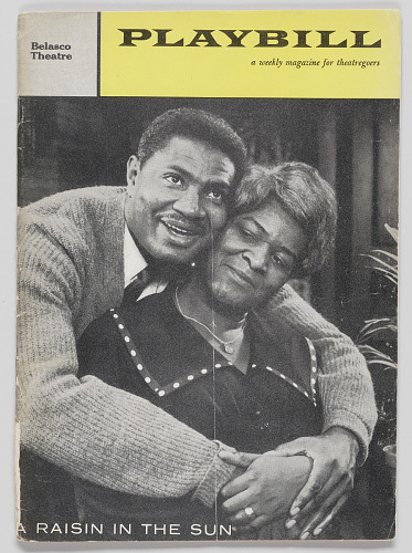 Image for Playbill for A Raisin in the Sun