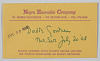 Thumbnail for Ticket envelope for Song of the Lusitanian Bogey and Daddy Goodness