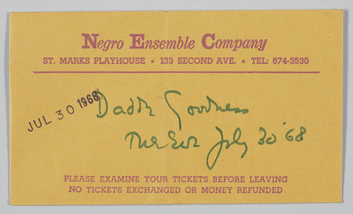 Image for Ticket envelope for Song of the Lusitanian Bogey and Daddy Goodness