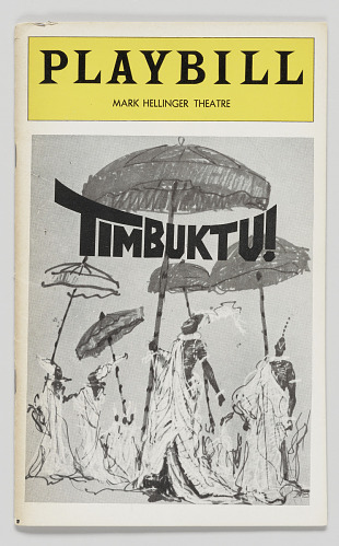 Image for Playbill for Timbuktu!