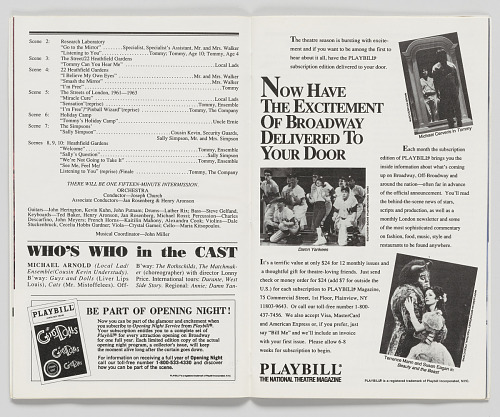 Image for Playbill for The Who's Tommy