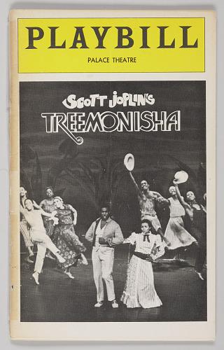 Image for Playbill for Scott Joplin's Treemonisha