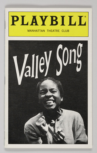 Image for Playbill for Valley Song