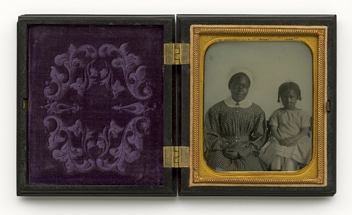 Image for Ambrotype of an unidentified woman and child
